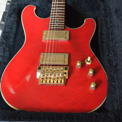 1984 Ibanez RS-1300 Roadstar II Transparent red Super 58 humbuckers for sale