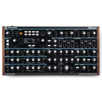 Novation Peak: Eight-voice desktop polyphonic synthesiser