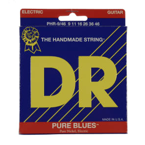 DR PHR-9/46 Pure Blues Lite & Heavy Electric Guitar Strings