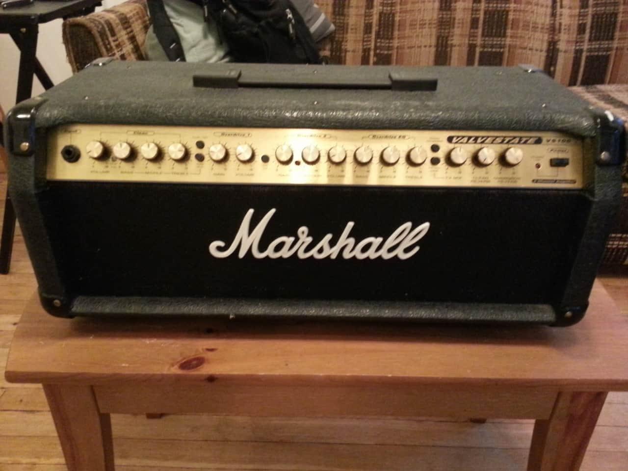 marshall valvestate vs100 electric guitar amplifier head 100w reverb. Black Bedroom Furniture Sets. Home Design Ideas
