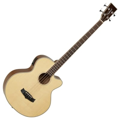 Tanglewood TW8 Winterleaf Electro Acoustic Bass Guitar - Natural for sale