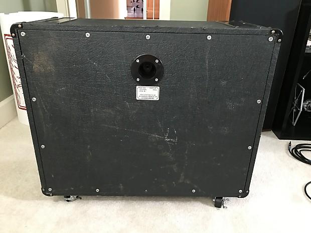 marshall jcm 800 1936 lead 2x12 1984 speaker cabinet reverb. Black Bedroom Furniture Sets. Home Design Ideas
