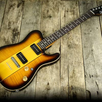 Suhr Select Classic T  in 2-Tone Tobacco Burst- COA Included and Upgraded Case- NAMM 2018 image