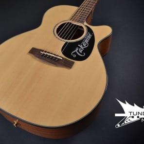 Takamine EG440SC G Series NEX Mahogany Bacik/Sides Acoustic/Electric - Natural 099 for sale