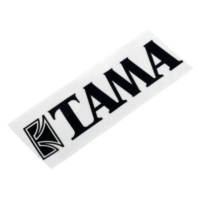 Tama TLS100BK Logo Sticker - Black