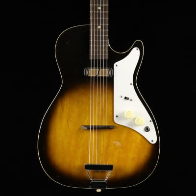 Holiday Stratotone H45 1960's Sunburst for sale