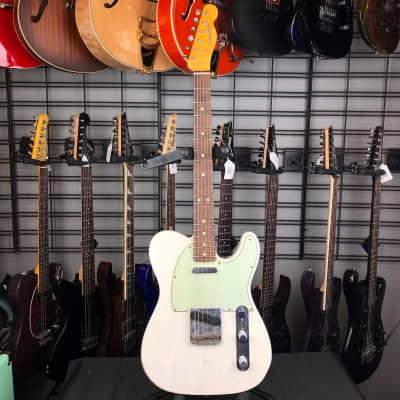 (BG060) Fender Custom Shop '63 Relic Telecaster Aged White w/case for sale