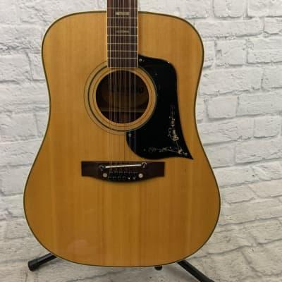Dorado by Gretsch 5993 Natural Vintage 12-String MIJ Acoustic Guitar w/ Hardshell Case for sale