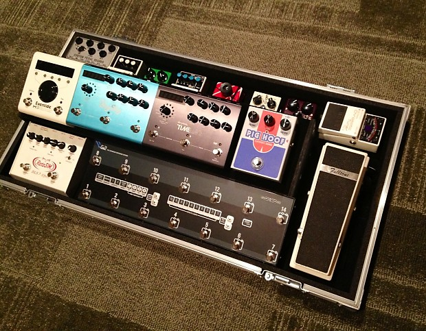 custom pedalboard patchbay