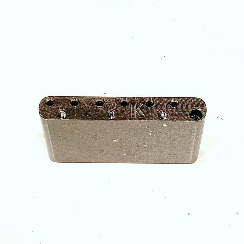 Kluson Milled Steel Vintage Sustain Block fits Fender & Kluson Vintage  tremolo KVSB