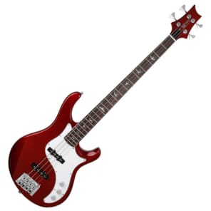 PRS SE Kestral Bass Red Alder Hipshot Electric 4 String Bird Inlay Korea for sale