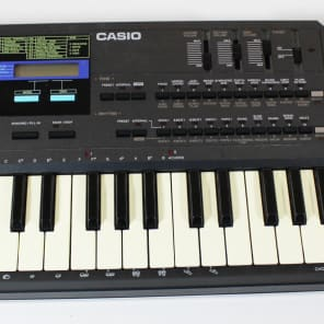 Vintage Casio HT 700 DCO Synthesizer Synth Keyboard w Onboard Filter MIDI
