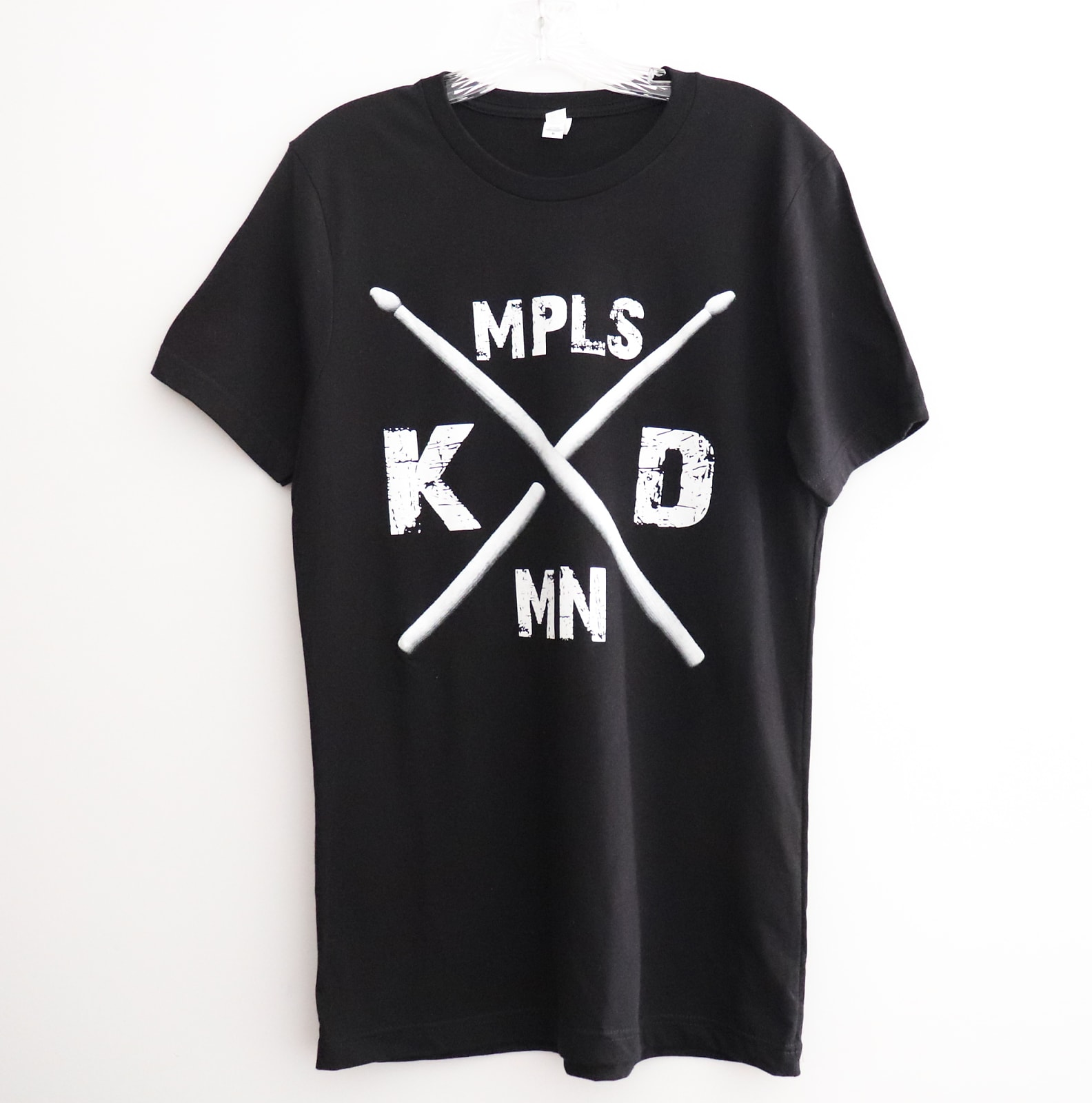 Klash Drums New Logo T shirt Black