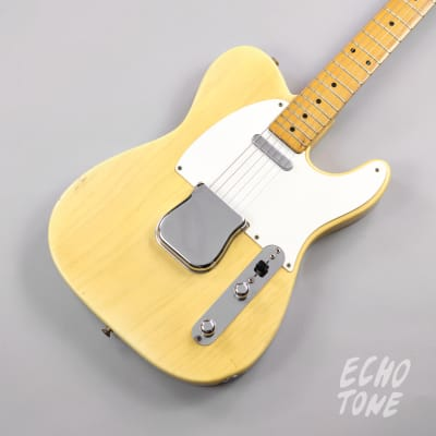 1955 Fender Telecaster (White-guard, Flat-pole Pickup, OHSC)