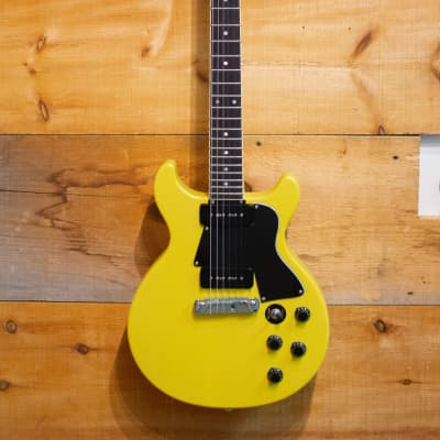 Palermo Custom Shop 1959 Les Paul Special Conversion Guitar 2019 TV Yellow W/ Gibson Case for sale