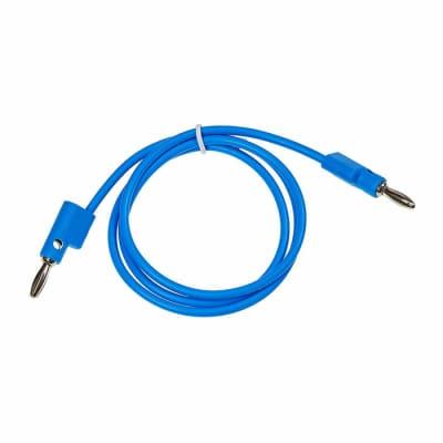 "Buchla Banana Cable 30"" Blue [Three Wave Music]"
