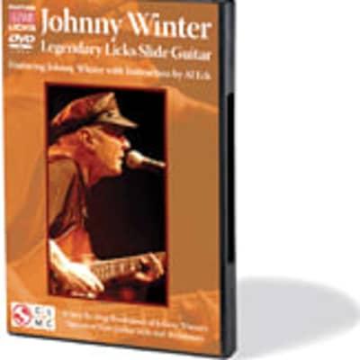 Johnny Winter: Legendary Licks Slide Guitar