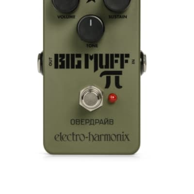 Electro Harmonix Green Russian Big Muff Distortion / Sustainer for sale