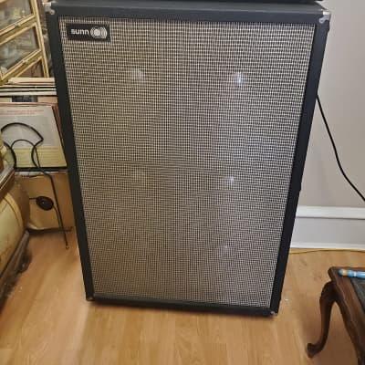 1968 Sunn 1000S 120 Watt  Guitar Amp Head and 6 x12 Cabinet~Near Mint w Extras, LOUD, Classic Tone!