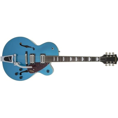 Gretsch G2420T Streamliner Single Cutaway Hollow Body with Bigsby, Riviera Blue for sale