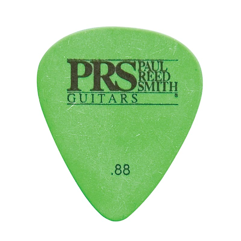 Paul Reed Smith PRS Green Delrin .88mm Guitar Picks (12 Pack)