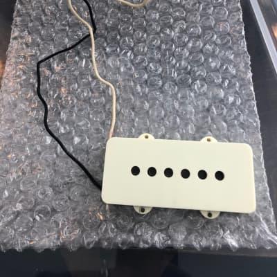Fender Jazzmaster Road Worn American Vintage Pickup Bridge  2018 Parchment
