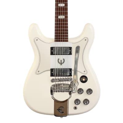 Epiphone Crestwood Custom Polaris White w/Tremotone for sale
