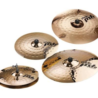 Paiste PST 8 Reflector Universal Cymbal Set 14/18/20 + 16  - 285371 - 697643113312