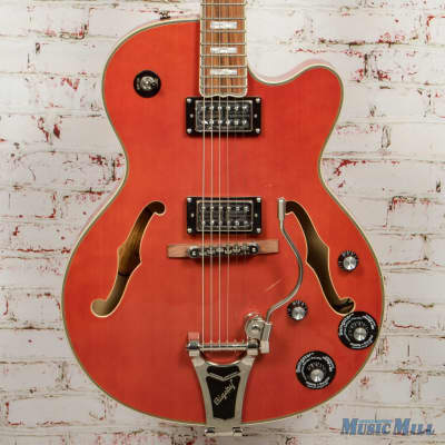 2018 Epiphone Emperor Swingster - Orange x4996 for sale