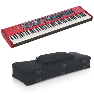 Nord Stage 3 HP76 76-Note, Hammer-Action Portable Keybed with Gator Cases Padded Keyboard Gig Bag