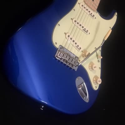 Vintage 2019 V6JVCAB Candy Apple Blue John Verity Signature Electric Guitar