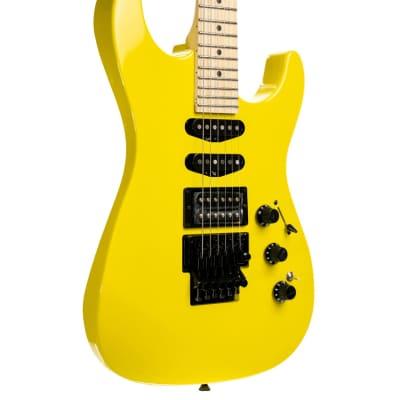Fender Limited Edition HM Strat, Maple Fingerboard - Frozen Yellow