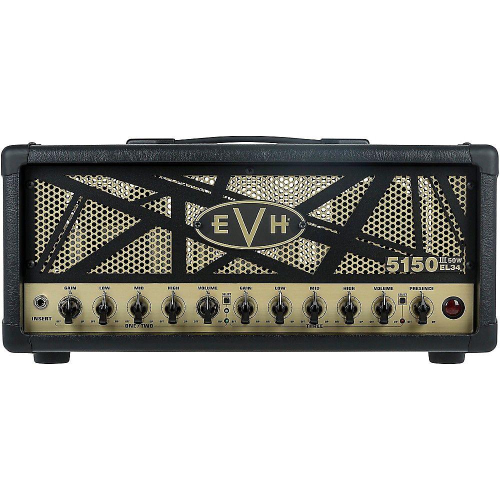 evh 5150 iii el34 50 watt tube guitar head reverb. Black Bedroom Furniture Sets. Home Design Ideas