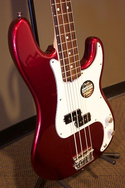 Fender American Standard Precision Bass 2013 Mystic Red W