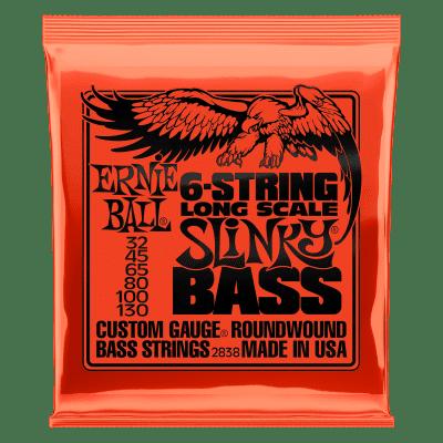 Ernie Ball Bass Guitar 6-String Slinky 32-130