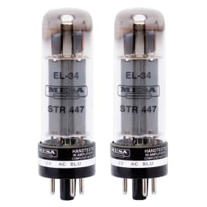 Mesa Boogie EL-34 STR-447 Power Tubes (Matched Pair)