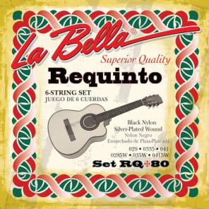 La Bella RQ80 Black Nylon Requinto Strings