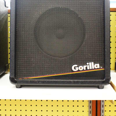 Gorilla GB-30 Bass Guitar & Keyboard Amplifier/Amp, 30 Watt, 3-Band EQ for sale