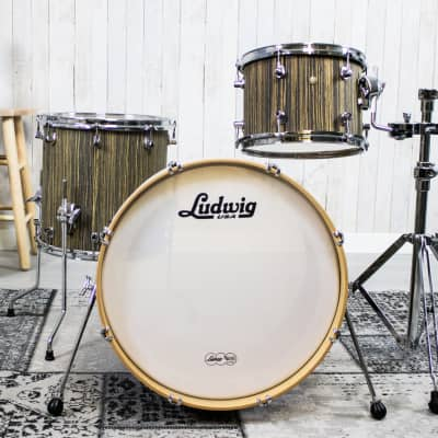 """Ludwig LSS030X Signet GigaBeat 12 / 14 / 20"""" 3pc Shell Pack"""