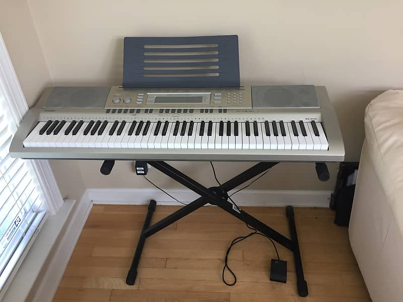 casio wk 200 keyboard reverb. Black Bedroom Furniture Sets. Home Design Ideas