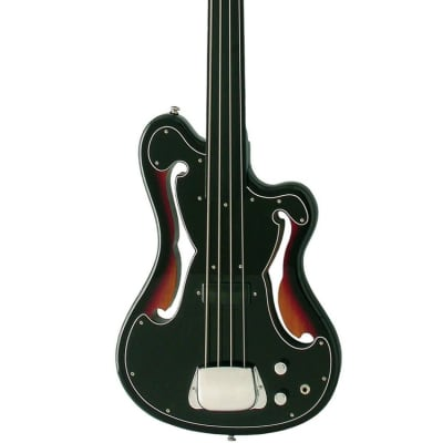 Eastwood MRG Series EUB-1 Mahogany Body Maple Neck 4-String Fretless Electric Bass Guitar