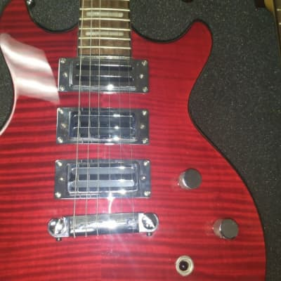 RARE Alden custom 2019 Red Flamed maple - Gibson-Style for sale