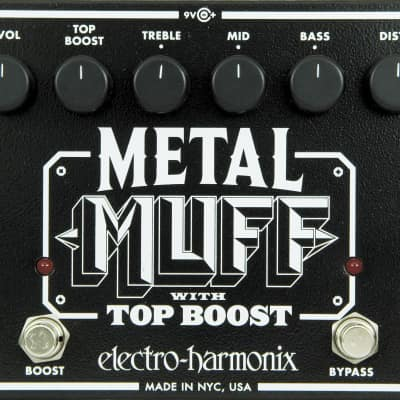 Electro Harmonix Metal Muff Distortion Pedal for sale