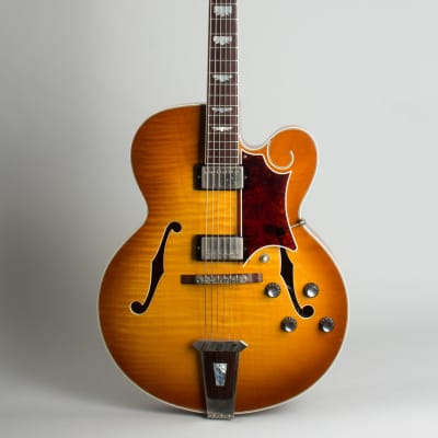 Gibson  Tal Farlow previously owned by Tal Farlow Arch Top Hollow Body Electric Guitar (1997), ser. #91787011, brown tolex hard shell case. for sale