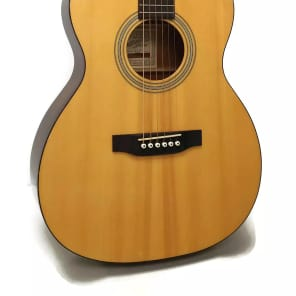 Recording King ROS-06 06 Series Solid Top 12-Fret 000 Acoustic Guitar