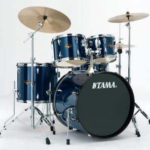 """Tama IP50CMNB Imperialstar 10/12/14/20/5x14"""" 5pc Kit w/ Meinl HCS Cymbals"""