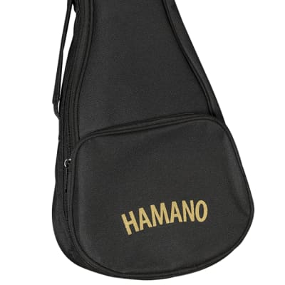 Hamano Ukulele U-450 Deluxe Soprano Acacia for sale