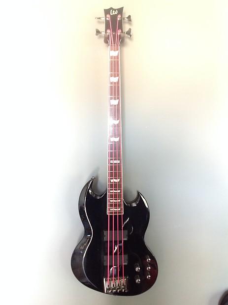 esp ltd viper bass 414 black reverb. Black Bedroom Furniture Sets. Home Design Ideas