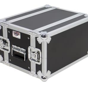 "OSP RC6U-10 6-Space 10"" ATA Effects Rack Case"