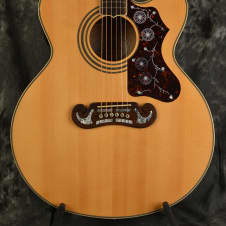 Epiphone EJ-200CE Natural Acoustic Electric Jumbo w Deluxe Hardshell Case Included